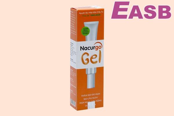 Thuốc trị sẹo Nacurgo Gel - Trị sẹo lồi