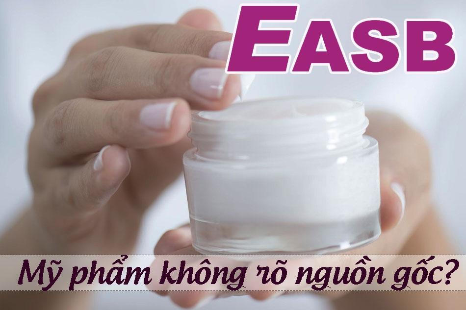 Sử dụng mỹ phẩm không rõ nguồn gốc có thể gây dị ứng