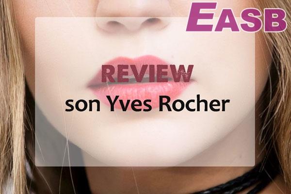 Son dưỡng môi có màu Yves Rocher đã tạo được tự tin tưởng từ người dùng