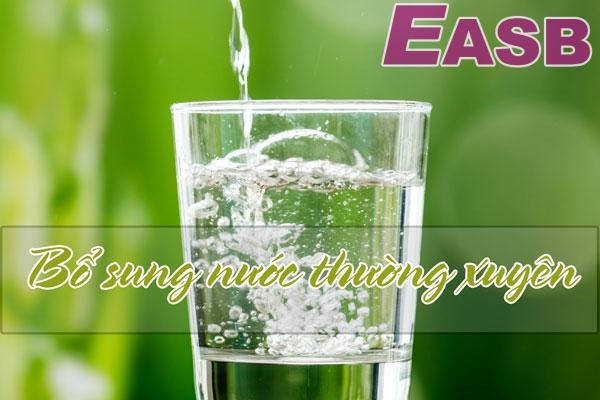 Hãy uống đủ nước mỗi ngày để đảm bảo cho sắc đẹp