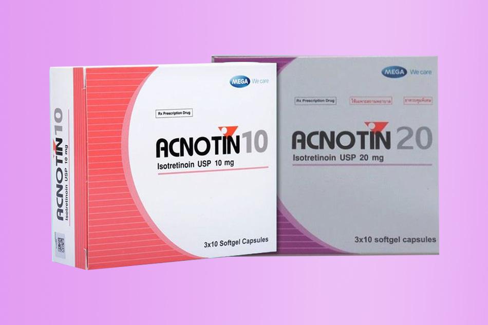 Acnotin 10 và Acnotin 20