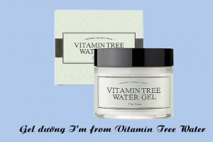 Hình ảnh hộp và sản phẩm Gel dưỡng I'm From Vitamin Tree Water