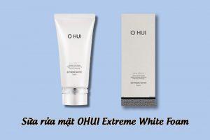 Hình ảnh Sữa rửa mặt Ohui Extreme White Foam