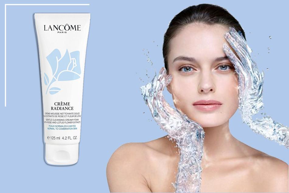 Nâng niu làn da mỗi ngày với sữa rửa mặt Crème Radiance Clarifying Cream-to-Foam Cleanser
