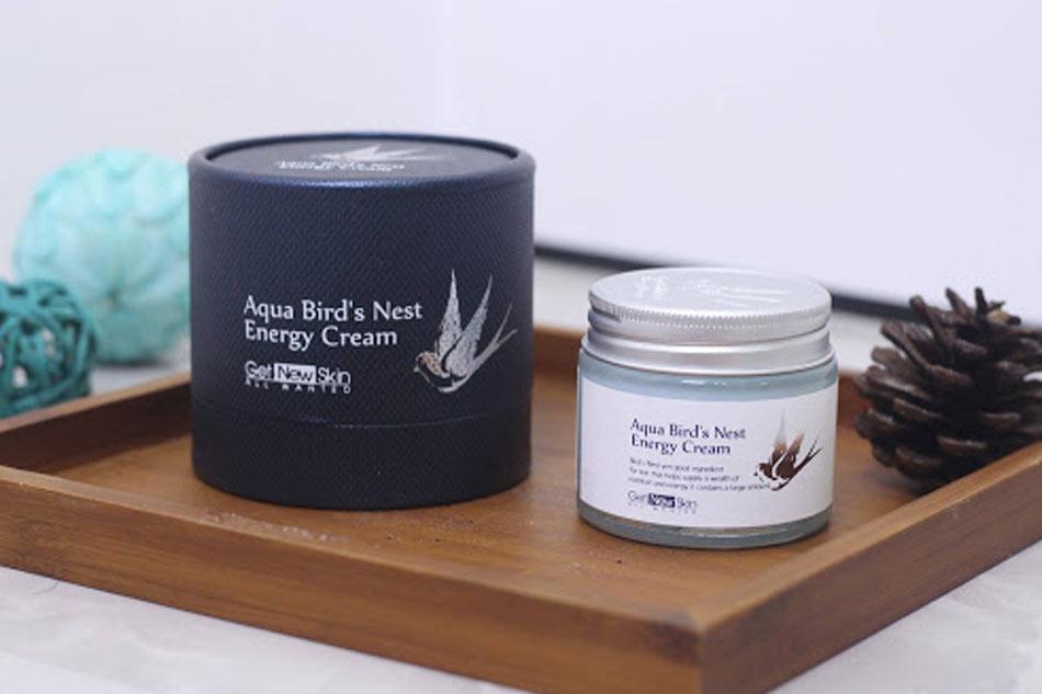 Aqua Bird's Nest Energy Cream xuất xứ từ Hàn Quốc