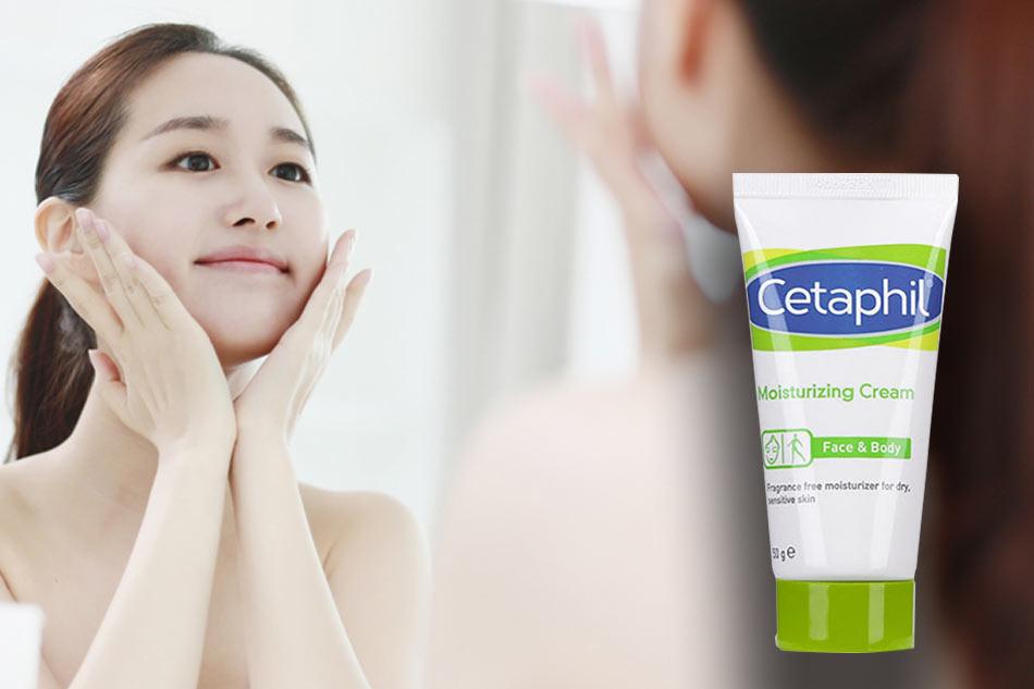 Cetaphil Moisturizing Cream cung cấp độ ẩm cần thiết cho da
