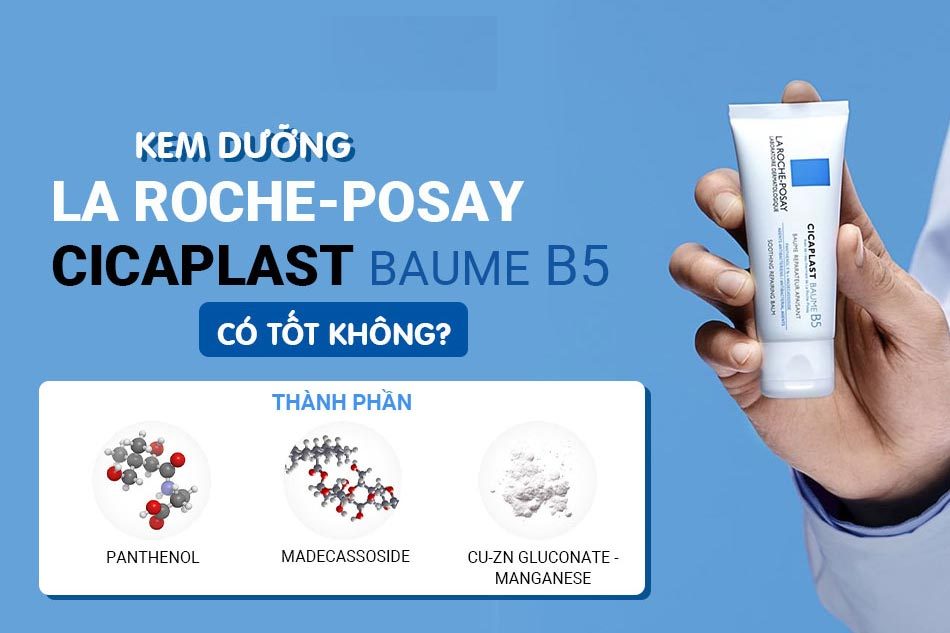 Kem dưỡng phục hồi da Cicaplast Baume B5