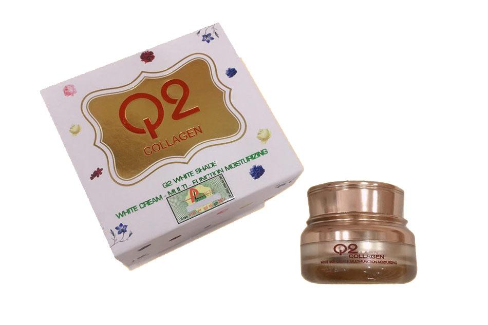 Kem dưỡng da Q2 Collagen hũ màu vàng