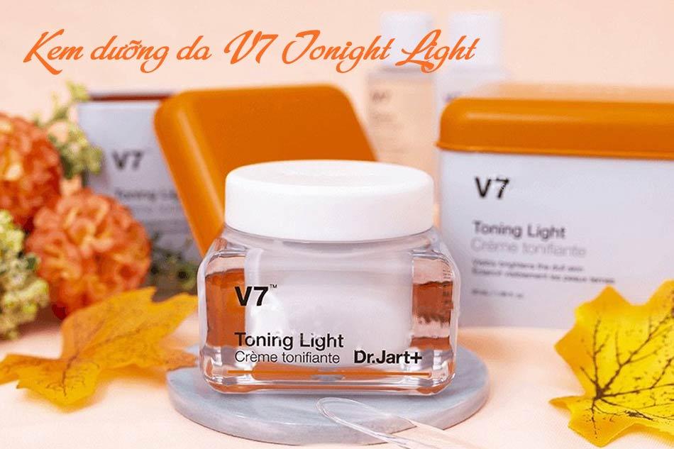 Công dụng chính của Kem V7 Toning Light