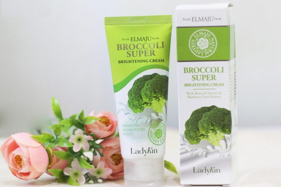 Hình ảnh kem Bông cải xanh Ladykin Broccoli Super